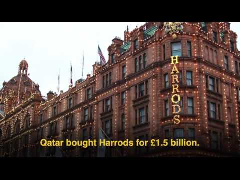 How much of London does Qatar own?