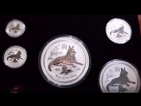 Unboxing My Set of 2018 Silver Perth Mint Year of the Dog Lunar Series!