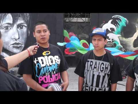 """Musica y Pintura: """"Por Mis Pistolas"""" (Evento) Barrio de San Antonio Puebla 2015."""