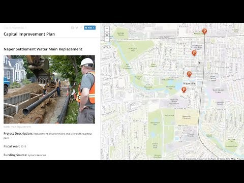 An Overview of the Capital Project Planning Maps and Apps