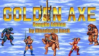 Golden Axe III: RongHe Edition by Hinadorijp hack (Sega Mega Drive/Genesis)