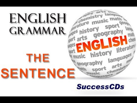The Sentence - English Grammar Lesson