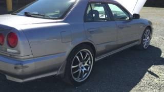 "1998 Nissan Skyline R34 GT Rb20de NEO, 19"" wheels, RWD"