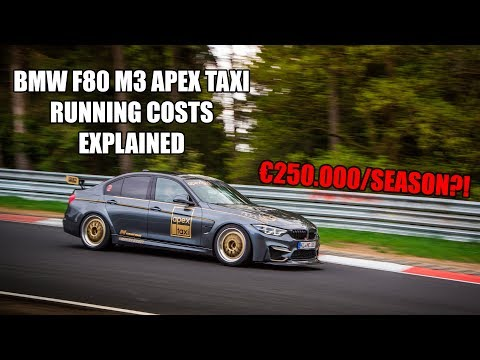 Here's why a lap with BMW M3 Nurburgring taxi is so expensive