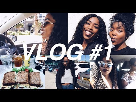 VLOG #1: MEETING SOME FRIENDS, EVENTS & HITTING 1K! | SOUTH AFRICAN YOUTUBER