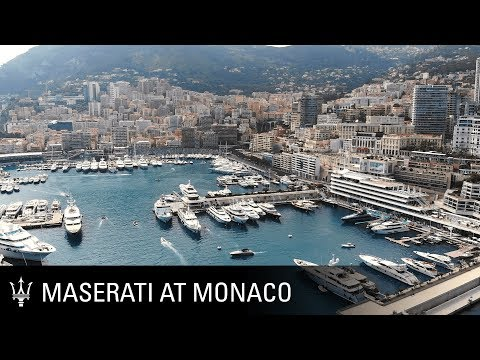 Maserati and Ferretti. Monaco lifestyle