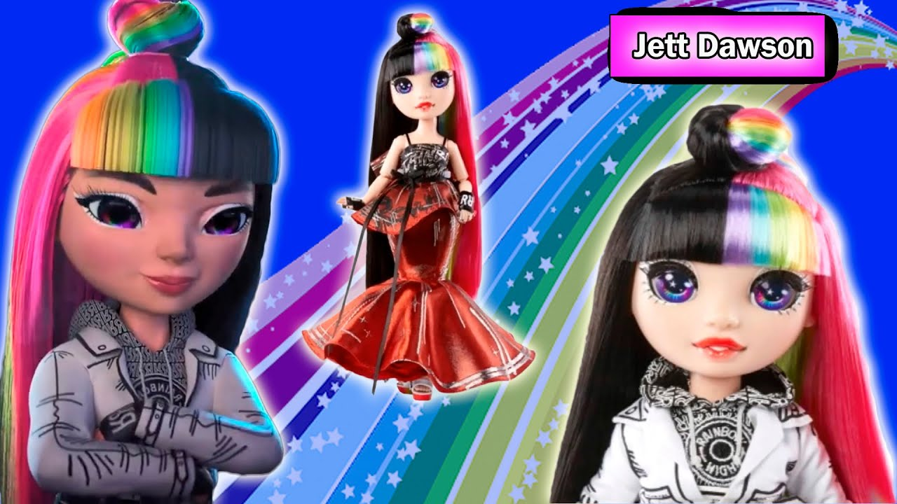 NEW Rainbow High Jett Dawson doll new special edition doll 2021   STOCK PHOTOS