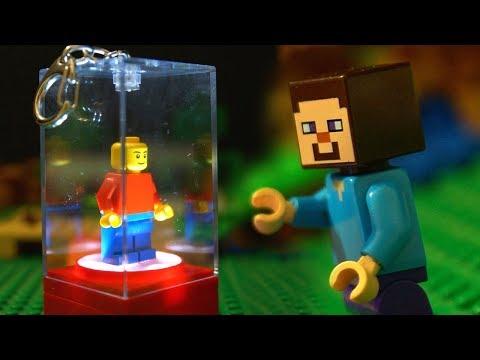 ЛЕГО НУБик 🔆 ЛЕГО ФОНАРИК Майнкрафт Мультики для Детей LEGO Minecraft Мультфильмы thumbnail