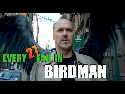 Every Fail In Birdman | Everything Wrong With Birdman, Mistakes and Goofs