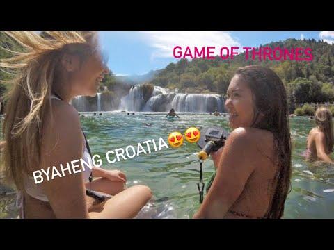 CROATIA 2016 (Dubrovnik, Split,  Krka National Park,  Omis,  King's  Landing,)  GoPro