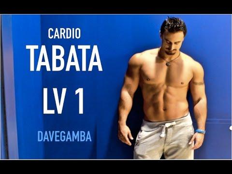 Tabata LV1 - with italian fitness model Dave Gamba