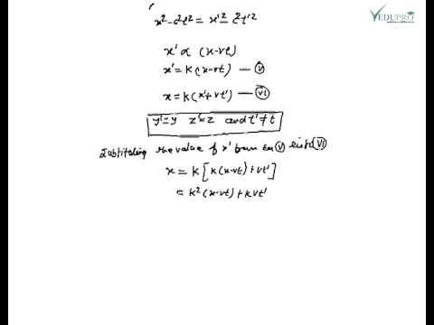 Lorentz Transformation, Lorentz Transformation Equation, What is Lorentz Transformation?