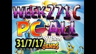 Angry Birds Friends Tournament All Levels week 271-C  PC POWER-UP walkthrough