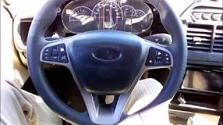 ВАЗ 21111 Замена руля от Калины на руль от Весты