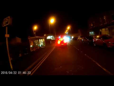 East Belfast Nightime Christmas Motorbike Run