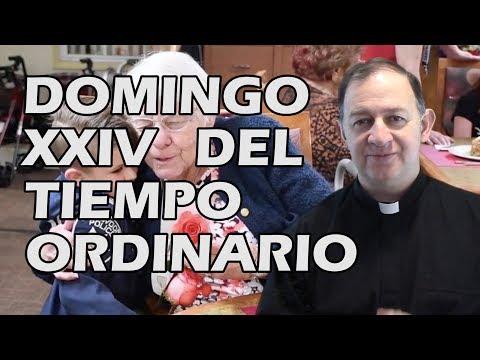 Domingo XXIV del Tiempo Ordinario - Que cargue con su cruz y me siga