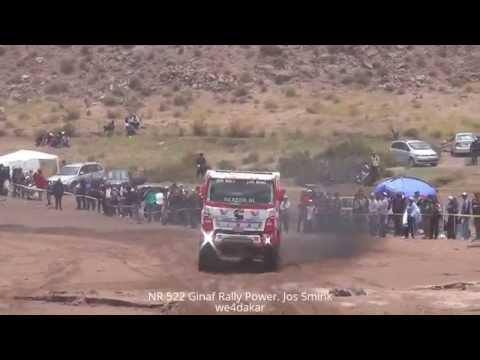 NR 522 DAKAR 2015 Ginaf Rally Power. Jos Smink