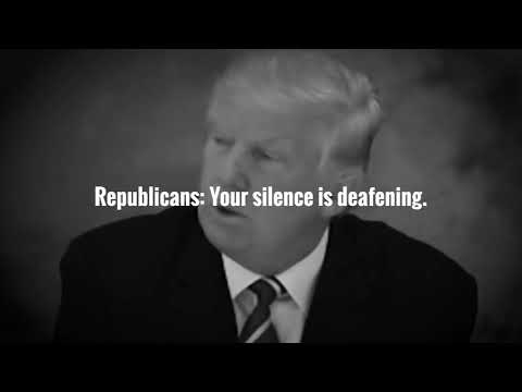Republicans: Your Silence is Deafening
