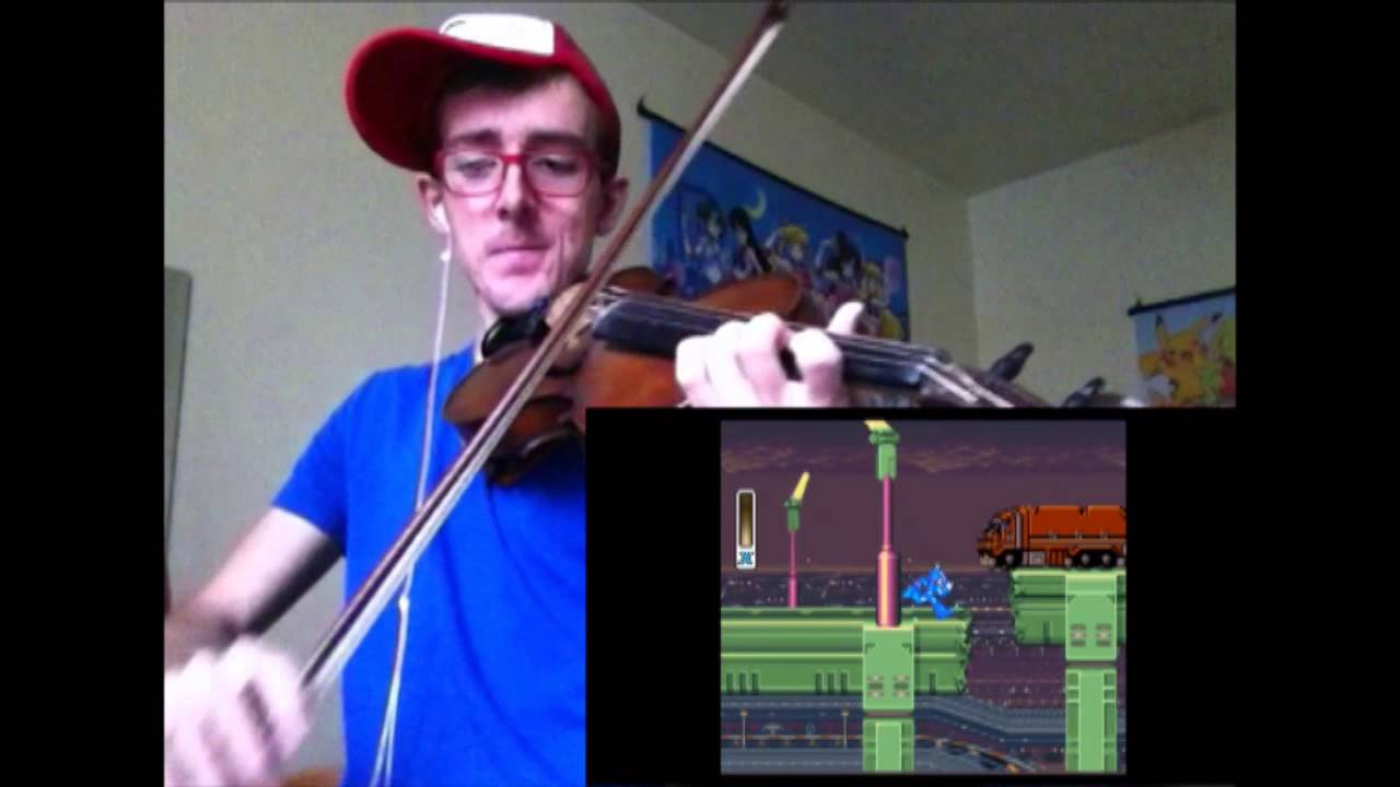 Mega Man X - Intro Stage (Violin Cover)