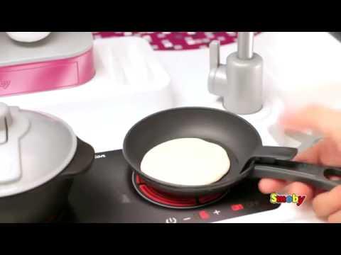 cocina studio xl tefal de smoby en eurekakids - youtube