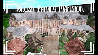 Bloxburg | Blush Family Mansion | No Large Plot | Speed Build | 604k