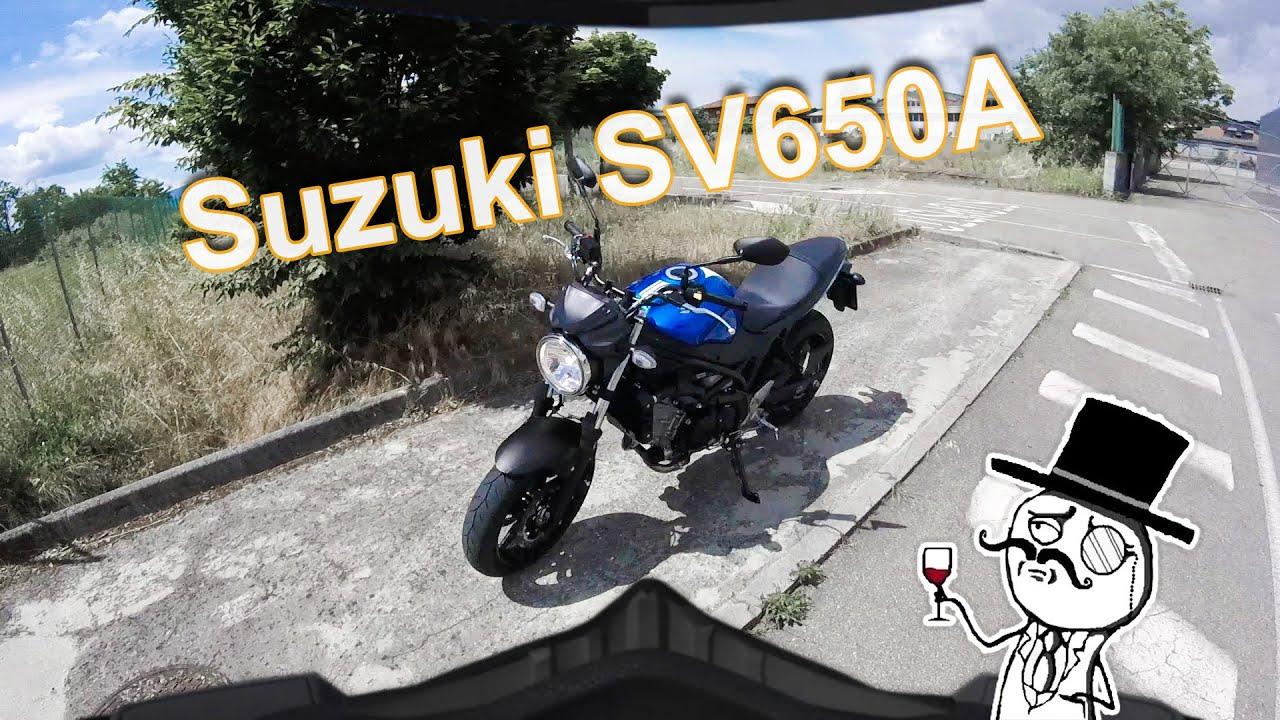 New Suzuki SV650 SV650A 2016 Recensione