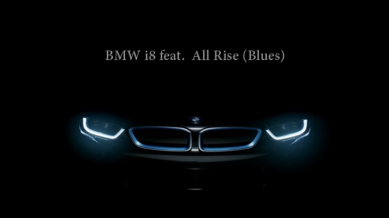 Bmw I8 Feat All Rise Blues Sexiest Video Ever Must For Car