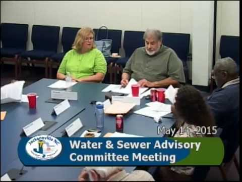 Water and Sewer Committee