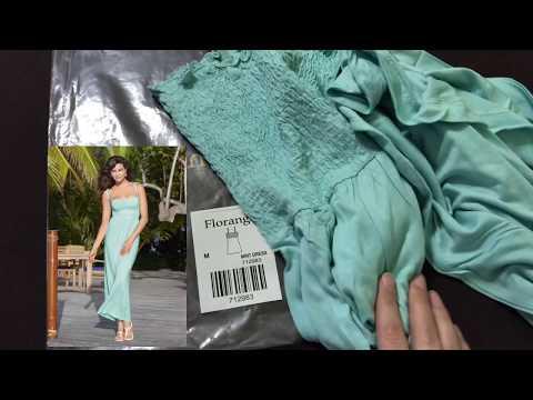 Заказ ФАБЕРЛИК 6 2019 ~ Пляжные платья FLORANGE, колготы, чулки, полотенца