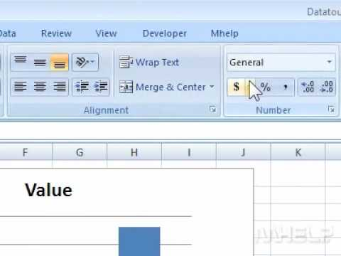 How to add a currency symbol in Excel - YouTube - how to make a sign in sheet using excel