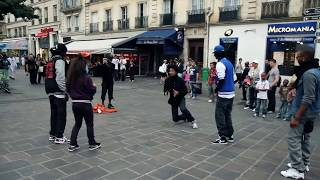 STREET BATTLE Les Twins VS. Bones The Machine+Pee Fly VS. Laura+Boubou | YAK FILMS thumbnail