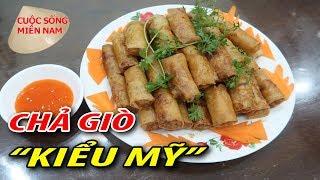 Chả Giò Bắp Tôm Thịt ( Cách làm của Việt Kiều Mỹ) #namviet