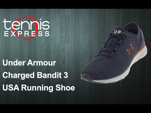 detailed look ea863 44c95 Under Armour Charged Bandit 3 USA Running Shoes   Tennis Express