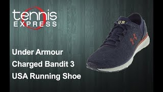Under Armour Charged Bandit 3 USA Running Shoes | Tennis Express