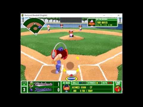 Backyard Baseball 1997 - Blue Bombers vs. Little ...