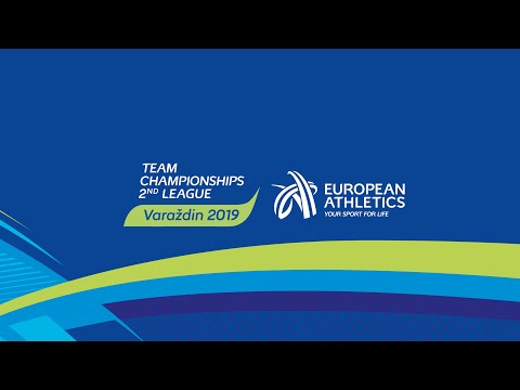 European Athletics Team Championships Second League Varaždin 2019 - 2nd day LIVE STREAM