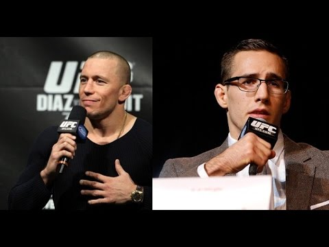 UFC 186: Q&A with Georges St-Pierre and Rory MacDonald