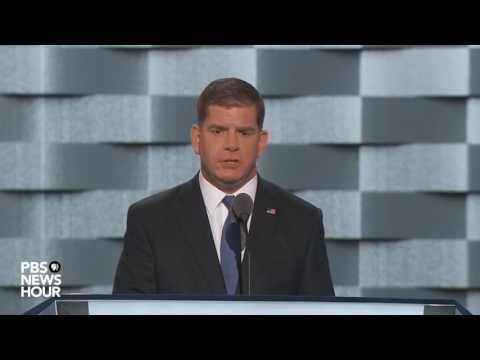 Watch Boston Mayor Marty Walsh's full speech at the 2016 Democratic National Convention