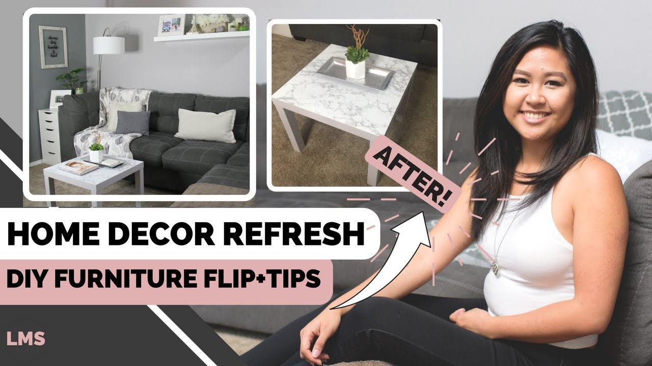 How to refresh your home decor diy furniture flip for Flipping a house tips