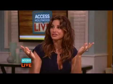 Gina Gershon Reveals Her Secret To Transforming Into Donatella Versace very hot very sexy