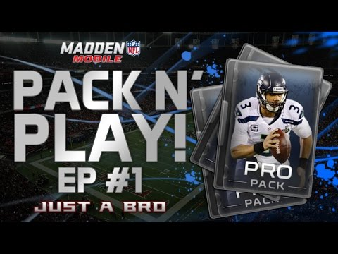 PACK N' PLAY Ep.1! - Madden Mobile