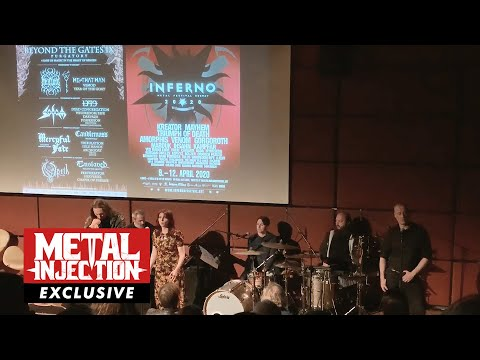 Gaahl (Gaah's Wyrd) and Lindy-Fay Hella (Warduna) Exclusive Private Performance | Metal Injection