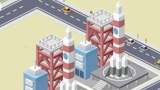 Pocket City Level 99 Rocket Launch - GAME COMPLETE