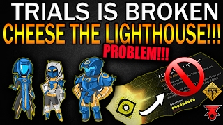 Destiny | NEW TRIALS of OSIRIS IS BROKEN! 52% OF KILLS BY SIDE ARMS! CHEESING TRIALS!