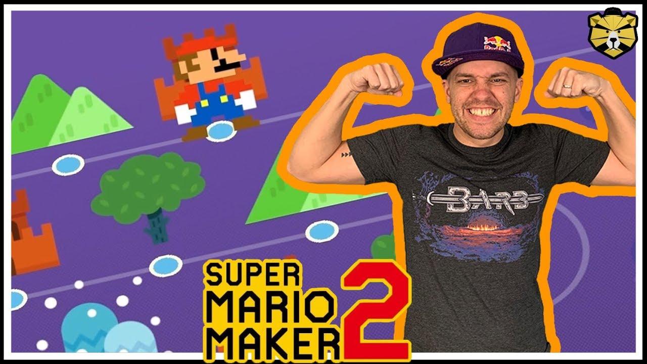 Super Mario Maker 2: Endless Super Expert #9: New Personal Best No Skip  Record!