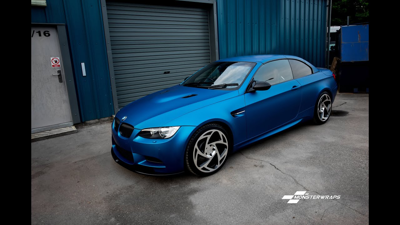 Monsterwraps | Car wrap Southampton - Matte Blue Metallic ...