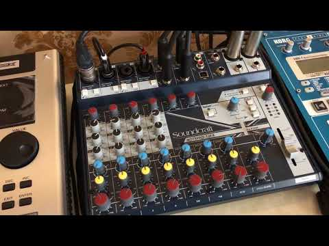 Totally Amateur Soundcraft Notepad 12FX Review. (This time with video editing!)