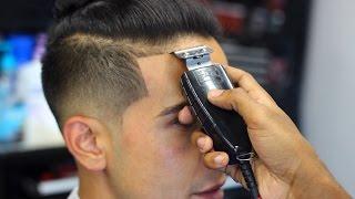 HAIRCUT TUTORIAL ON HOW TO CUT  A JEREMY LIN MAN BUN