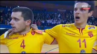 Serbia vs Macedonia 29:32 (13:14) Handball Full Match | First Half | 05/01/2018