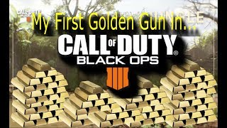 My First Golden Gun In..(Live Commentary)(Xbox One)(BO4 Game Play)